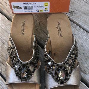 31e8b548d93 Natural Soul Shoes - Natural Soul by Naturalizer Ragan wedge sandals